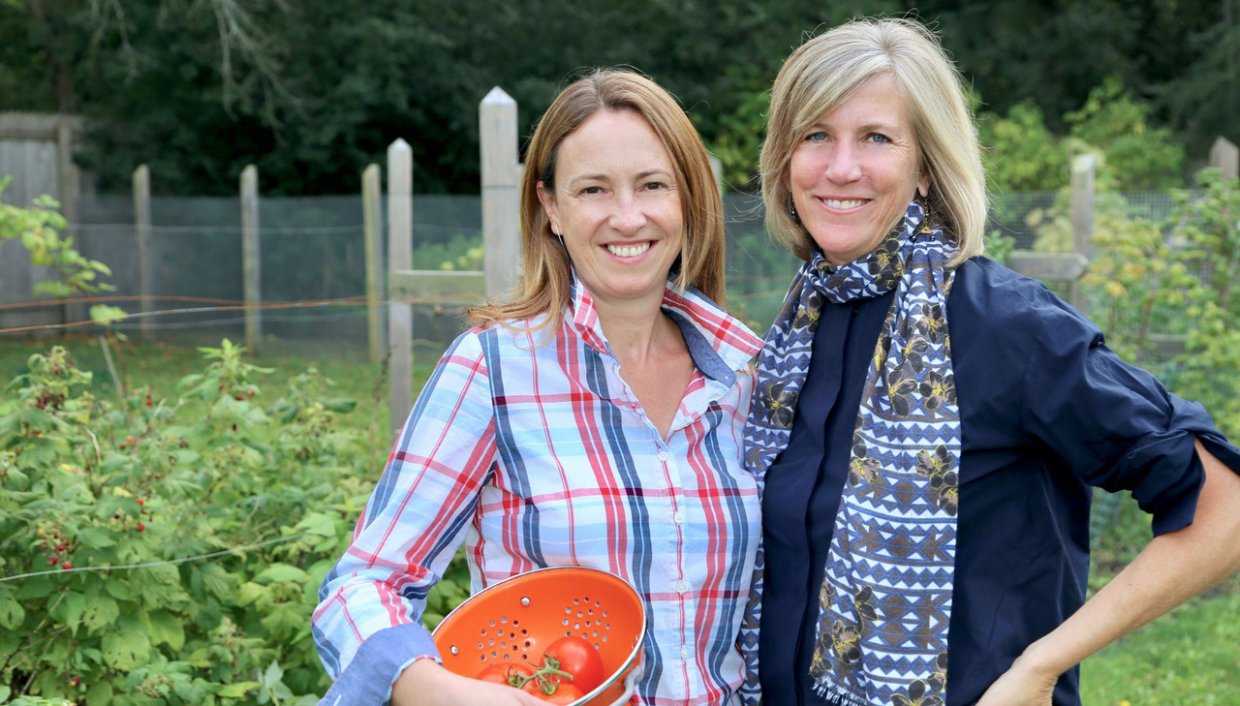 Jane McKay and Meg Barnhart, founders of Zen of Slow Cooking, a business solving an everyday problem